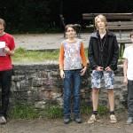 u14: 1. Emil Schmidek, 2. Moritz Greßmann, 3. Bennett Schnabel