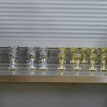 viele Pokale