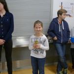 1. Platz u12 DWZ Mädchenwertung