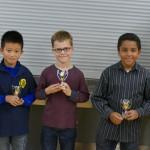 Sieger u12 DWZ Jungenwertung