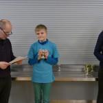 1. Platz u12 DWZlos Jungenwertung