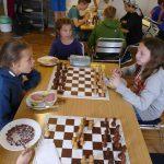 Frühstück beim Schach