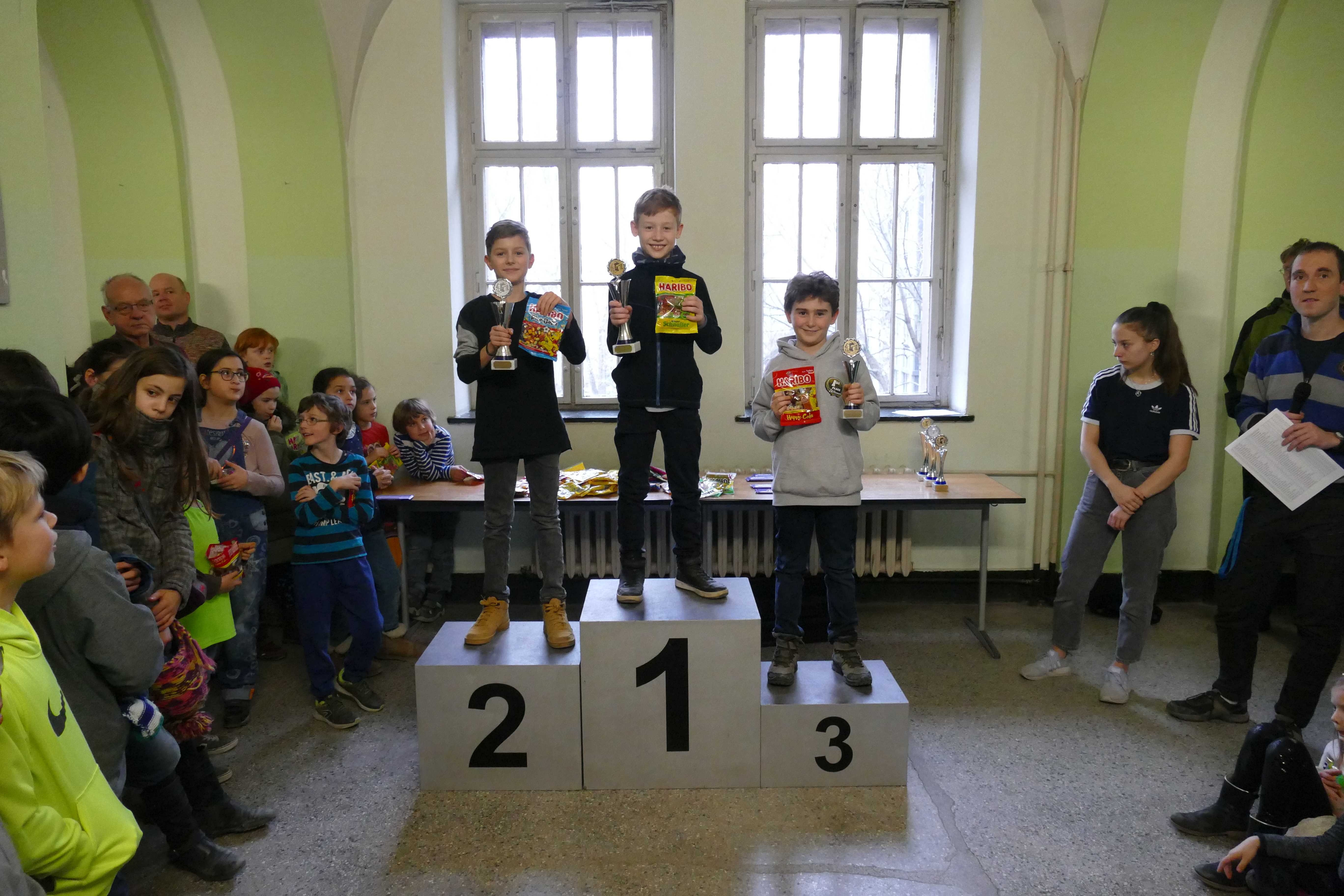 Paul Trotzinski - Sieger u12 beim JWO (Quelle: Schachjugend in Berlin)